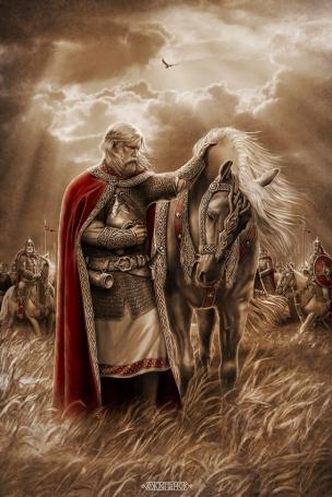 ВЕЩИЙ ОЛЕГ (Прощание с конём)
