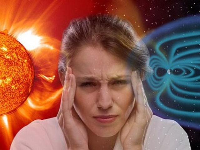 Влияние магниных бурь на человека