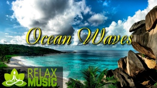 Relax Music. Relaxing Piano with Ocean Waves Sounds | 3 Hours Music for Studying