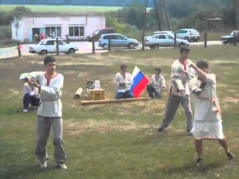 Танец с шашками! Клуб славянской культуры Добрыня, г Кинель