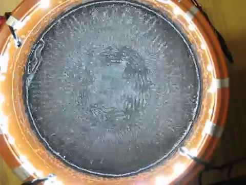 Киматика шаманские барабаны, Cymatics, shamanic drums