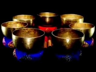 Медитация Тибетские поющие чаши. Чакра Исцеление. Тон D #